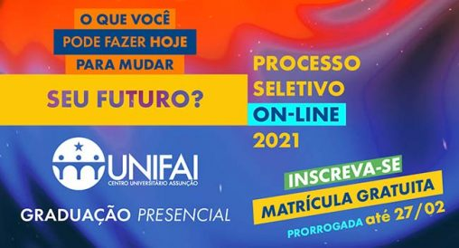 Vestibular UNIFAI - Centro Universitário Assunção